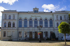 Theater of Crimmitschau, Germany, 2015 Royalty Free Stock Image