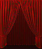 Theater curtain royalty free illustration