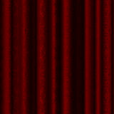 Theater curtain. In rich burgundy colors with decorative uhorom in the form of beautiful curls Royalty Free Stock Images