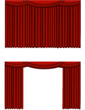 Theater curtain Royalty Free Stock Images