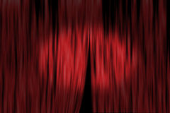 Theater curtain Stock Photos