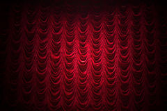 Theater curtain background Royalty Free Stock Photo