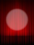 Theater curtain Stock Image