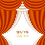 Theater curtain Stock Images