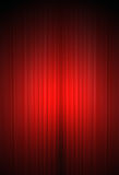 Theater curtain in vertical format Stock Photo