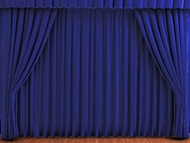Theater curtains Royalty Free Stock Photography