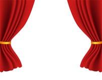 Theater curtains Stock Photos