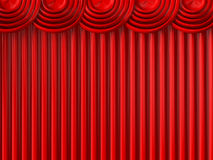 Theater Curtains Royalty Free Stock Images