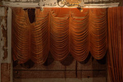 Theater curtains Stock Images