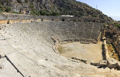 Theater in Demre Royalty Free Stock Photo