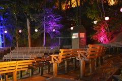 Theater des Lichtes Lizenzfreie Stockfotografie