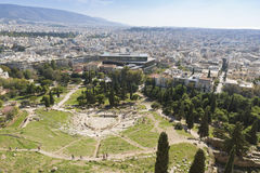 Theater of Dionysus Royalty Free Stock Photography