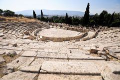 Theater of Dionysus, Athens. Greece Royalty Free Stock Image