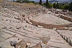 Theater of Dionysus. At Athens, Greece Stock Photos