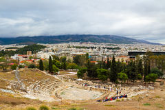 Theater of Dionysus Royalty Free Stock Images