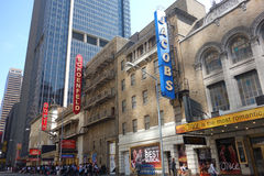 Theater District Stock Photo