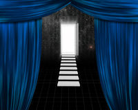 Theater Doorway Stock Images