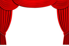 Theater Drapes Stock Images