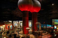Theater of Electricity, Boston Museum of Science. Stock Photography