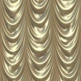 Theater or Elegant LivingRoom Curtain Stock Image