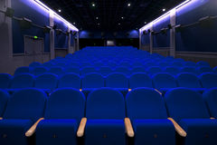 Theater empty seats Stock Images