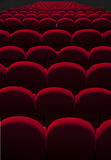 Theater empty seats Stock Photography