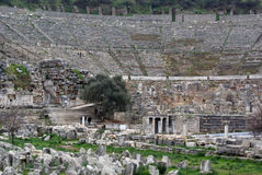 Theater in Ephesus Stock Photography