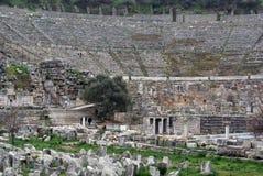 Theater in Ephesus stockfotografie
