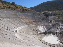 Theater at Ephesus Royalty Free Stock Images