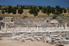 Theater of Ephesus Ancient City Royalty Free Stock Photography