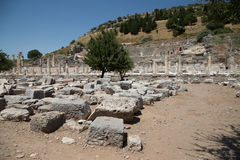 Theater of Ephesus Ancient City Stock Images