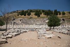 Theater of Ephesus Ancient City Royalty Free Stock Image
