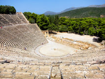 Theater in Epidavros Royalty Free Stock Photography