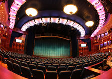 Theater. FORT LAUDERDALE, USA, MAY 11: Royal Caribbean, Oasis of the Seas docked in Fort Lauderdale, USA on May 11 2011. The second largest passenger ship ever Stock Photo