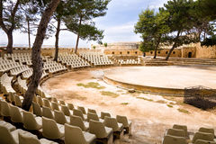 Theater, fortress, Rethymno, Crete Royalty Free Stock Image