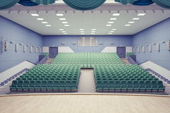 Theater Hall Royalty Free Stock Photography
