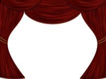 Theater-Hauptvorhang vektor abbildung