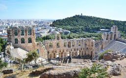 Theater of Herodes Atticus Athens Greece Royalty Free Stock Image