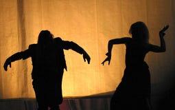 Theater - het leven stock foto's