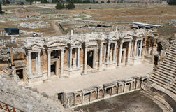 Theater of Hierapolis in Turkey Royalty Free Stock Photos