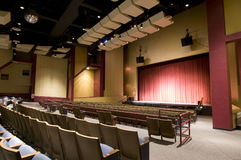 Theater Interior Royalty Free Stock Photos