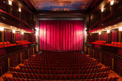 Theater interior Stock Photos
