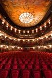Theater interior Royalty Free Stock Photo