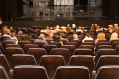 Theater interior stock photo