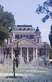 Theater Ivan Vazov in Sofia Bularia Royalty Free Stock Photos