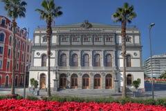 Theater in Las Palmas DE Gran Canaria, Spanje royalty-vrije stock fotografie