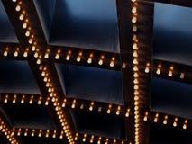 Theater-Leuchten Stockfoto