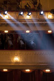 Theater lights Royalty Free Stock Photos