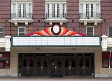 Theater Marque Royalty Free Stock Images