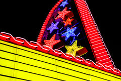 Theater marquee Royalty Free Stock Images